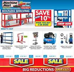 Garden & DIY offers in the Machine Mart catalogue in Liverpool ( Expires today )