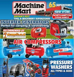 Machine Mart catalogue ( Published today  )