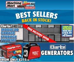 Garden & DIY offers in the Machine Mart catalogue ( 28 days left)