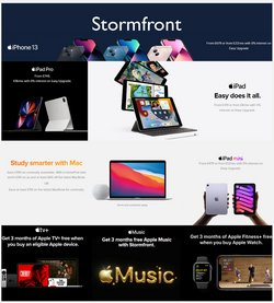 Electronics offers in the Stormfront catalogue ( 3 days left)