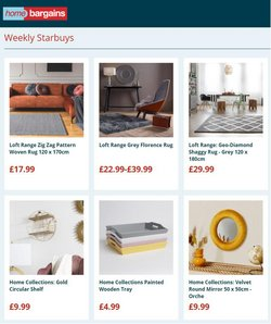 Home Bargains offers in the Home Bargains catalogue ( Expires today)