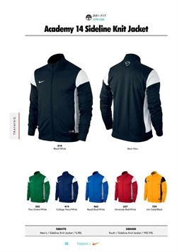 Jacket offers in the Nike Stores catalogue in London