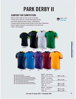 Football offers in the Nike Stores catalogue in London