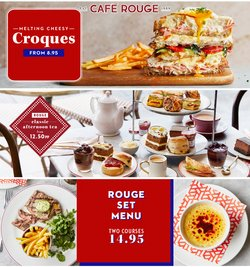Restaurants offers in the Cafe Rouge catalogue ( 7 days left)