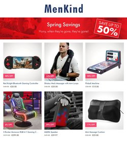 Department Stores offers in the Menkind catalogue ( 6 days left )