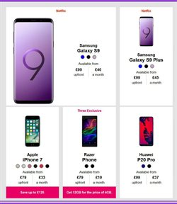 IPhone offers in the Three catalogue in London