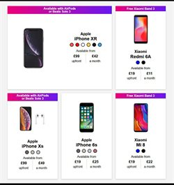 IPhone offers in the Three catalogue in Carlisle