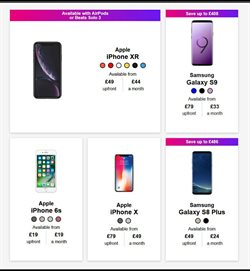 IPhone offers in the Three catalogue in Aberdeen