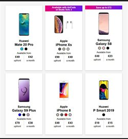 IPhone 8 offers in the Three catalogue in London