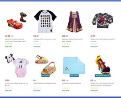 Cars offers in the Disney Store catalogue in London