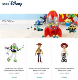Toys & Babies offers in the Disney Store catalogue ( 3 days left)