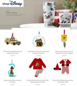 Toys & Babies offers in the Disney Store catalogue ( 4 days left)