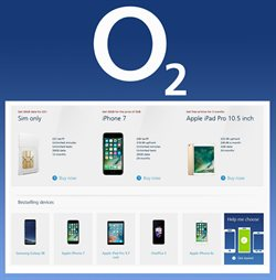 Electricals offers in the O2 catalogue in Bridgend