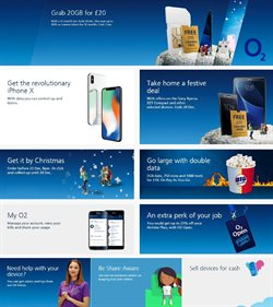 O2 offers in the Coventry catalogue