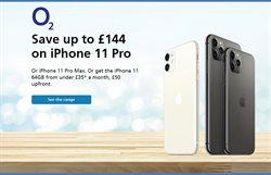 Electronics offers in the O2 catalogue in Norwich ( More than a month )