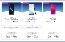 Offers of IPhone XR in O2
