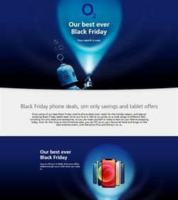 Black Friday offers in the O2 catalogue ( 3 days left)
