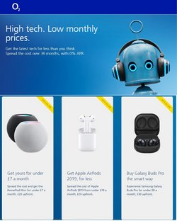 Electronics offers in the O2 catalogue ( 22 days left )