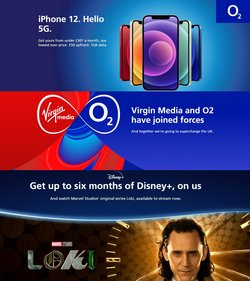 Electronics offers in the O2 catalogue ( 2 days left)