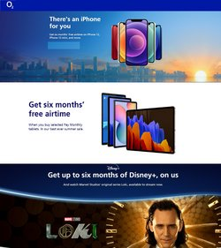 Electronics offers in the O2 catalogue ( 16 days left)