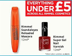 Mascara offers in the Savers catalogue in London