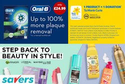 Pharmacy, Perfume & Beauty offers in the Savers catalogue ( Published today)