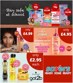 Pharmacy, Perfume & Beauty offers in the Savers catalogue ( 8 days left)