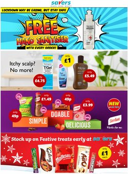 Pharmacy, Perfume & Beauty offers in the Savers catalogue ( 3 days left)