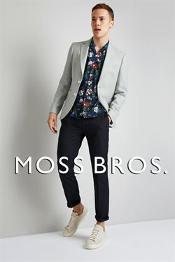 Moss Bros offers in the London catalogue