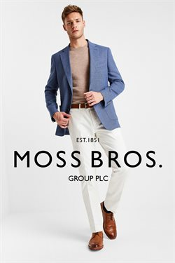 Moss Bros offers in the Leicester catalogue