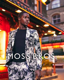 Moss Bros offers in the Ealing catalogue