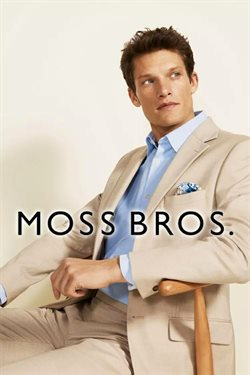 Moss Bros catalogue in London ( More than a month )