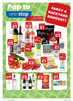 Cava offers in the One Stop catalogue in London