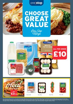 One Stop offers in the London catalogue