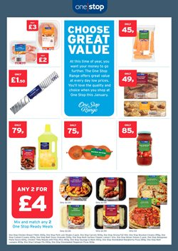Pizza offers in the One Stop catalogue in Oxford