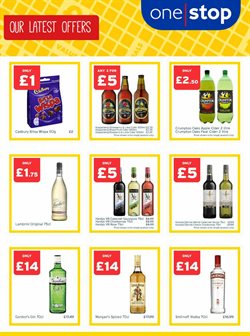 Gin offers in the One Stop catalogue in York