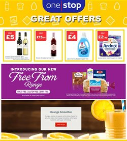 Oranges offers in the One Stop catalogue in Tower Hamlets