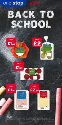 Supermarkets offers in the One Stop catalogue ( Expires today)