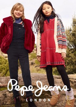 Pepe Jeans catalogue in London ( Published today  )
