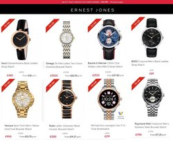 OMEGA offers in the Ernest Jones catalogue ( Published today)