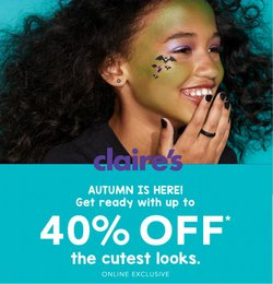 Claire's offers in the Claire's catalogue ( Expires today)
