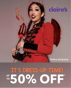 Claire's offers in the Claire's catalogue ( 7 days left)