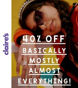 Claire's offers in the Claire's catalogue ( 11 days left)