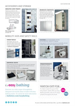 Shelving offers in the Bathstore catalogue in Stafford