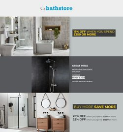 Bathstore catalogue ( Expired )