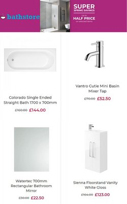 Bathstore catalogue ( Expires today )