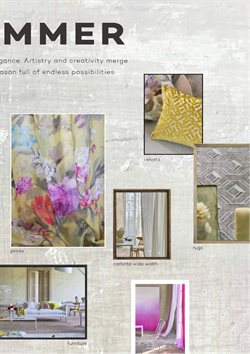 Curtains offers in the Designers Guild catalogue in London