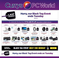 Electricals offers in the Currys catalogue in Runcorn