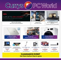 Electricals offers in the Currys catalogue in Aldershot