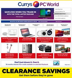 Electricals offers in the Currys catalogue in Birkenhead